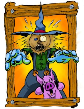 Scarecrow Surprised by TCBaldwin