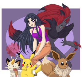 Pokemon Trainer For Fun 10 by PhinyxRose