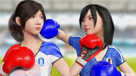 WC2018: Rivalry by gravureboxing