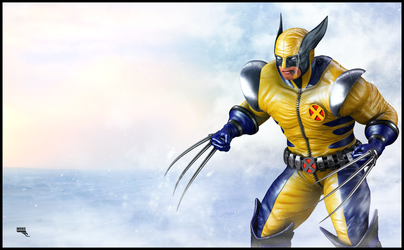 Wolverine 3d by MarcMons007