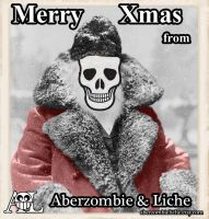 Merry Xmas from A and L by AberzombieLiche