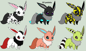 Special Eevee Adopts! (closed) by Sylveon17