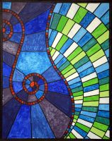 Stained Glass XI: Synaesthesia by TheColclough