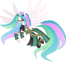 [Request] Celestia as Ying by LimeDazzle