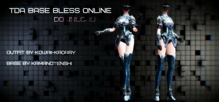 TDA Bless Online Base DL by Kowaii-Kaorry