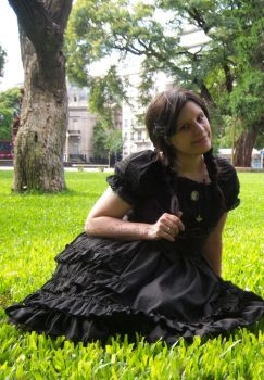 Lolita in the grass by Gothic-Gogo