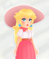 Princess Peach by wearthesun