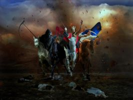 Four Horsemen of the Apocalypse by Madink2000