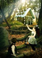 Hansel and Gretel by Demoncherry