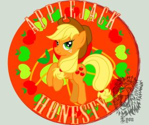 Applejack- The Element of Honesty by TheBig-ChillQueen