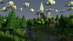 Low Poly Scene by bloodasp101