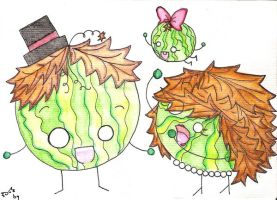 watermelon family by gold-angel-ia