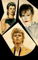Bowie Collage #2 by DotPerspectives
