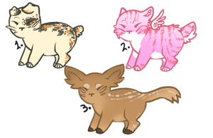 Pixie Cats - CLOSED by o-FlowerCrowned-o