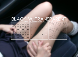 Black w Transparent - .Pat by coral-m