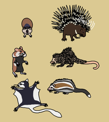 Not Rodents to Mess With by Albertonykus