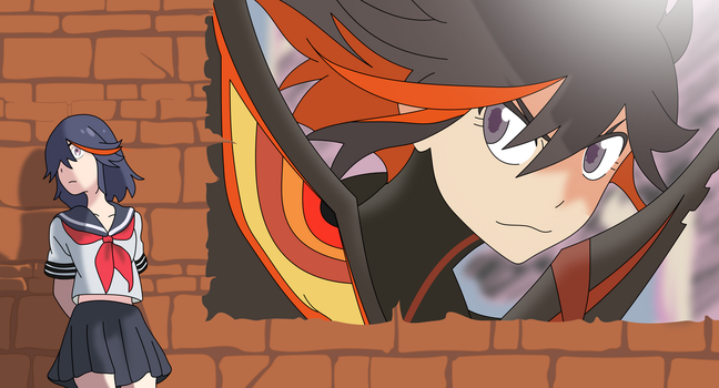 Ryuko Vector by Turtle-Lover73