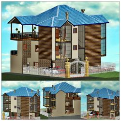 Holiday Home Concept Design by LahiruJ
