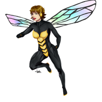 Wasp by JeyraBlue