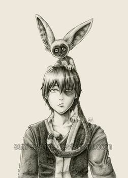 Zuko Meets Momo by SunlessRise
