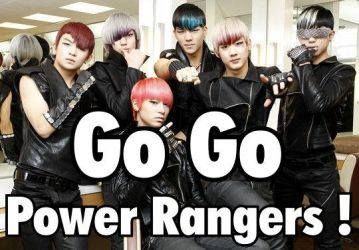 Teen Top or Power Rangers? by MiddleInAll