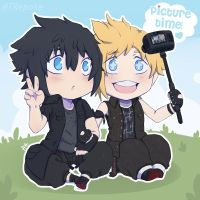 FFXV - Picture Time by 7Repose