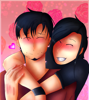 Birthday gift | cute couple by Dashigriffins