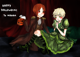 Italy-Britain : Halloween + by taro-kohai