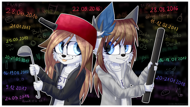 GIFT  2 Years of friendship + speedpaint by Ryodso