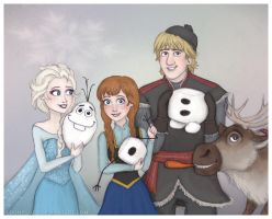 Frozen Group by Lucy--C