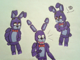 FNAF - Bonnie the Bunny by xx-Night-Waker-xx