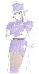 Kurru Fursdom (Shining Force OC) (2014 sketch) by cullsoft