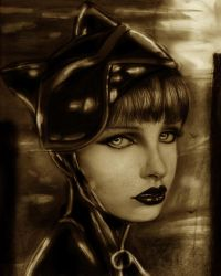Catwoman by IsaiahStephens