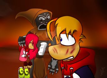 Rayman 3 (fanfic): what have you done to her... by raylex230