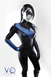 Lady Nightwing Cosplay Batman Arkham City Version by VampBeauty