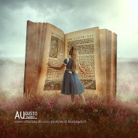 Magic Book by AugustoDigitalArt