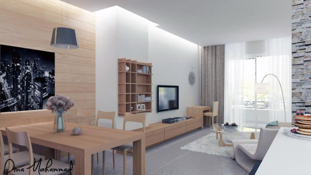 Private Apartment - 2 by dinamohammad