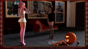 A mystery pumpkin lady came by by mCasual