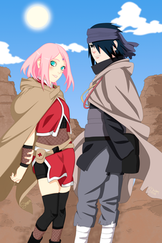 SasuSaku- [Collab] by NeoSM2503