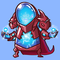 Dota Fanart v2 - Arc Warden by KidneyShake