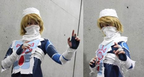 Stance- Sheik Cosplay by UnwoundRibbon