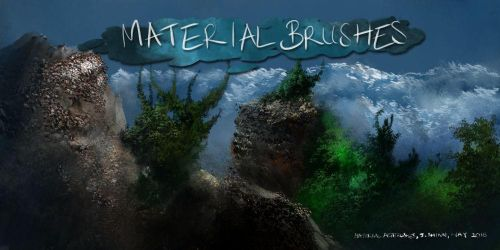 Material Brushes- For Krita Users by Jshinncreative