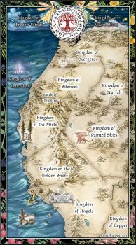 Kingdoms of the Westlands by priscellie