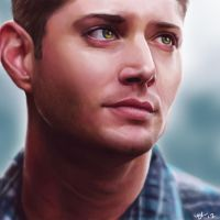 Dean Winchester by mikah1337