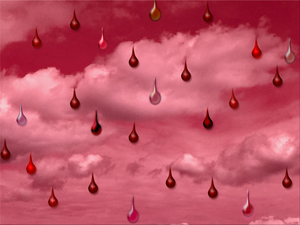 Raining Bloody Tear Drops Image 0997 by TheStockWarehouse