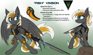 Ponification: Ash Vinson by DangerCloseArt
