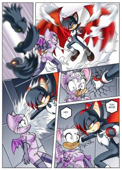 sonic fancomicp3 by chochi