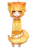 Chibi commission for Callmesatan by AruOwlsArts