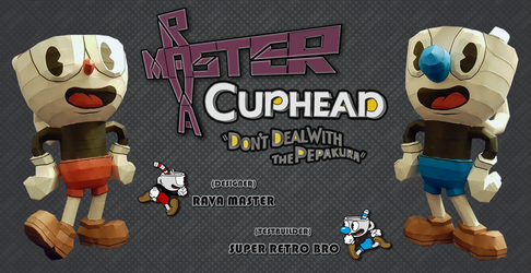 Cuphead and Mugman - Papercraft (DOWNLOAD) by RavaMaster