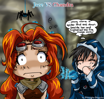 Jace VS Chandra by Prince-in-Disguise